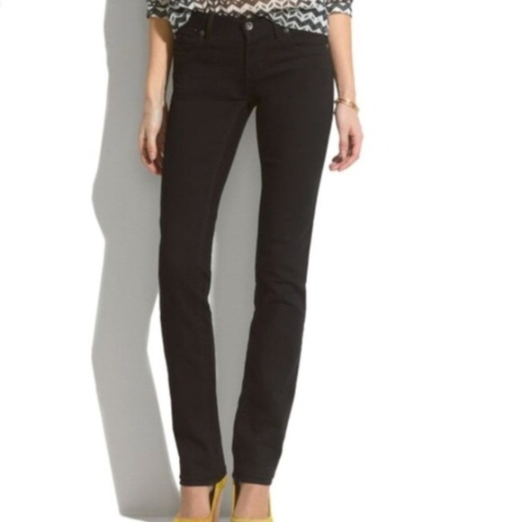 amazon official shop classic shoes Madewell Jeans | Rail Straight Black Size 27 | Poshmark